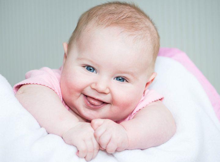 улыбка малышки