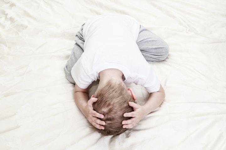 stressed child