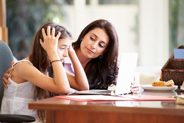 How parents can help teenagers under stress