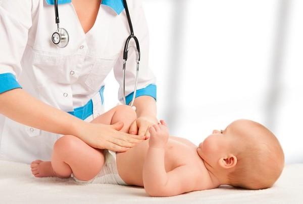 живот новорожденного