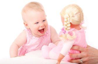Первая игрушка для новорожденных