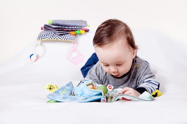 Мягкая книжка для новорожденного