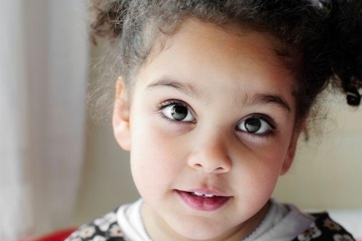 Черный цвет глаз у новорожденных