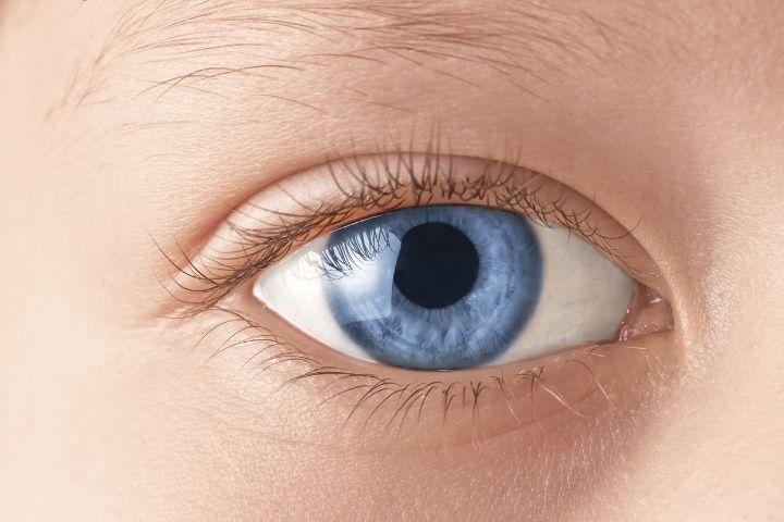 Отчего зависит цвет глаз новорожденного