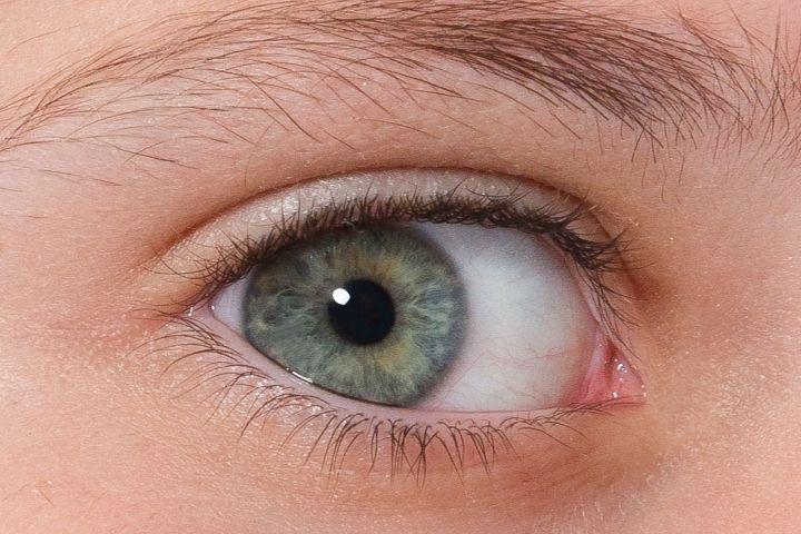 Серые глаза у новорожденных