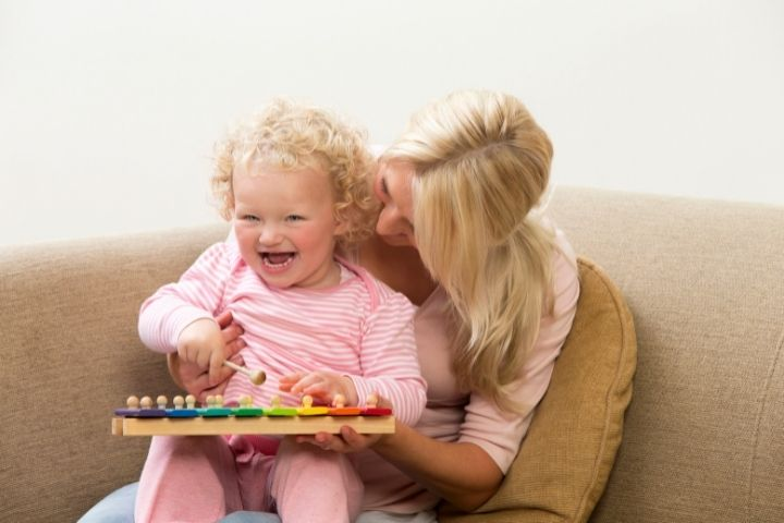 музыкальные занятия с детьми до года