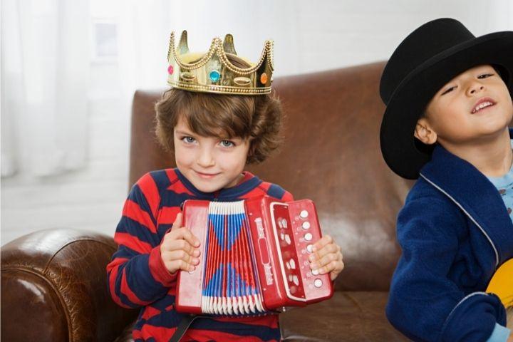 дети и музыкальные инструменты