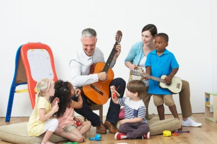 музыкальное воспитание для дошкольников
